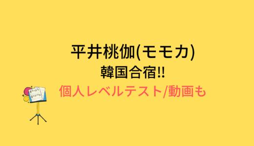 平井桃伽(モモカ)韓国合宿/個人レベルテストの結果と評価まとめ!動画もチェック